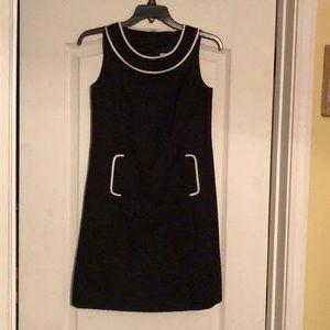Ann Taylor Petites Black Sleeveless Dress (SZ 00P)